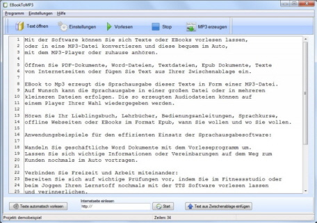 TTS Software deutsch